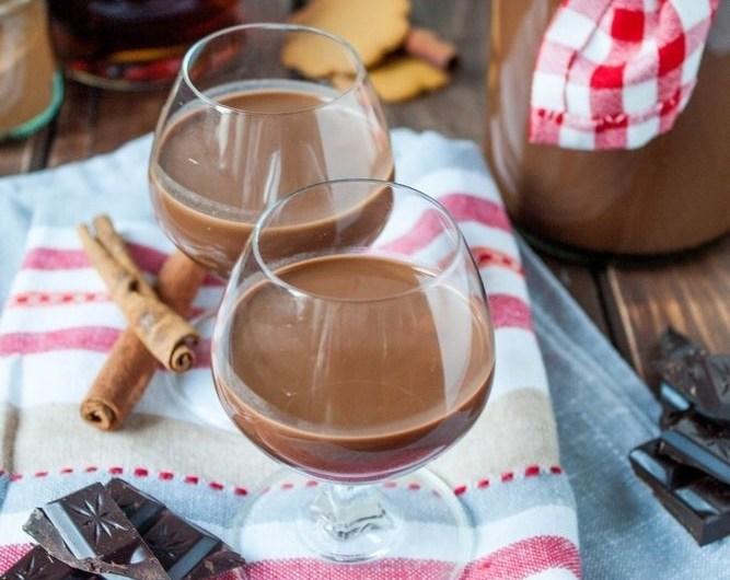 Wegański likier czekoladowy