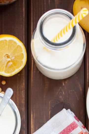 Naturalny jogurt sojowy