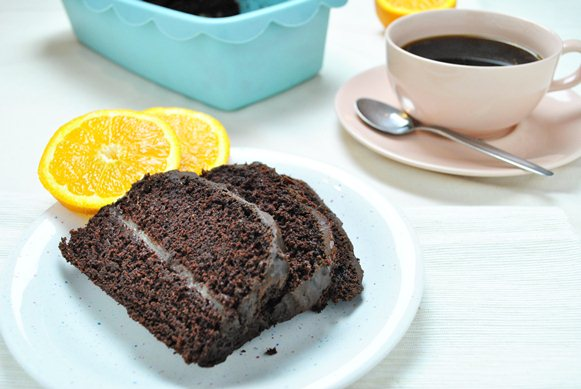 Puszyste ciasto czekoladowe