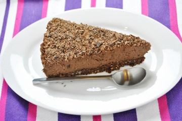 Tofurnik na zimno, czyli wegański sernik czekoladowy