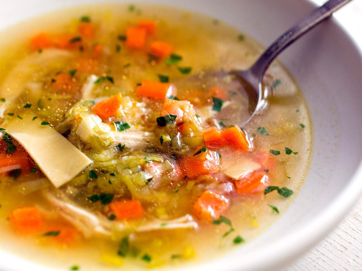 Sopa nem sempre é sinônimo de light!