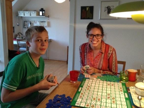 Lotte og Malte, Visiting Family