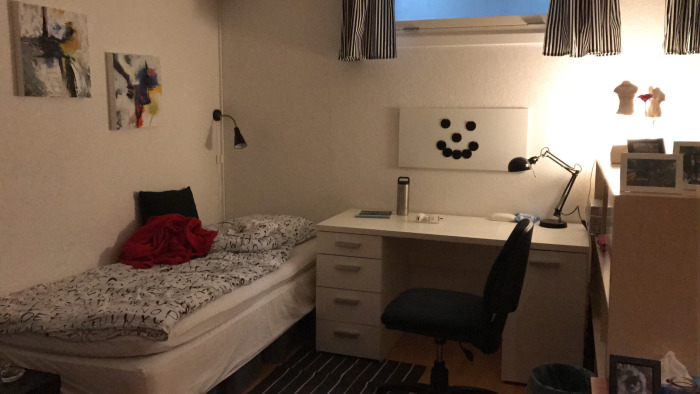 Sam værelse hos værtsfamilien