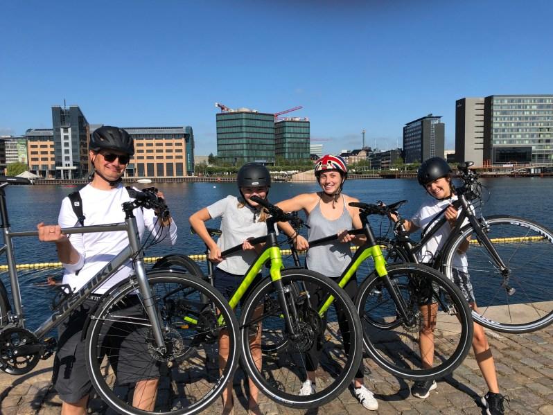 på cykeltur i københavn