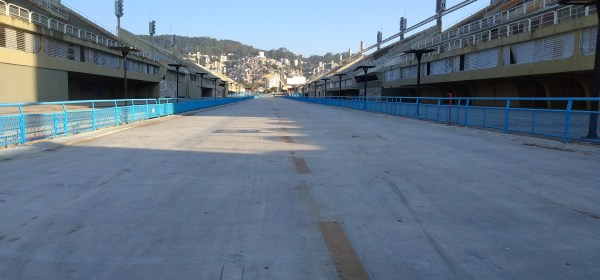 Sambódromo do Rio, gerido pela Riotur