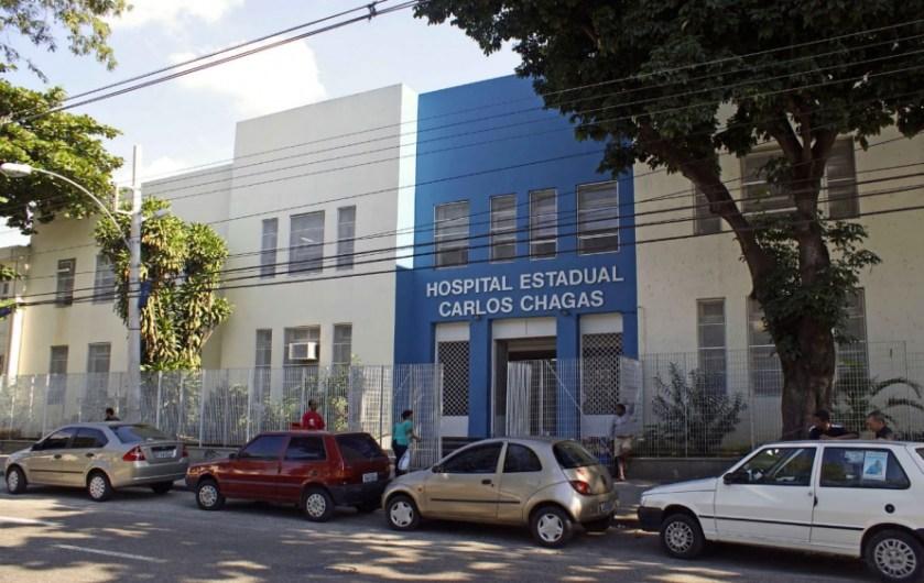 Hospital Carlos Chagas, unidade gerida pela Fundação Saúde