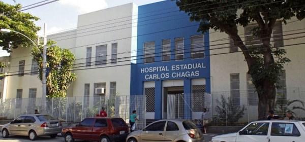 Hospital Carlos Chagas, uma das unidades geridas pela Organização Social Instituto dos Lagos Rio