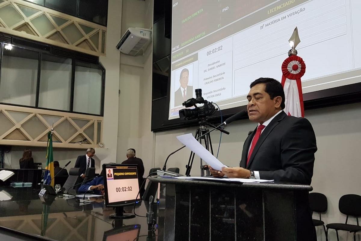 Bordalo apresenta projeto de lei que visa alterar estatuto dos policiais militares