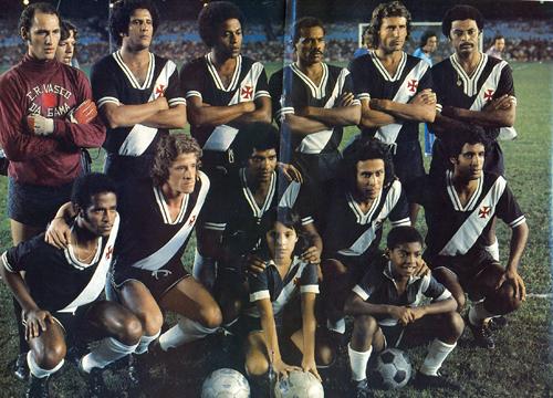 Jorginho Carvoeiro; Zanata; Ademir; Roberto Dinamite e Luis Carlos.
