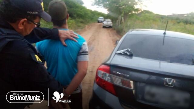 Suspeito de assalto é apreendido e comerciante é resgatado em Caruaru