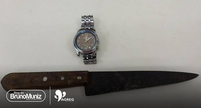 Após ameaçar pessoas, homem é preso com faca em Santa Cruz do Capibaribe