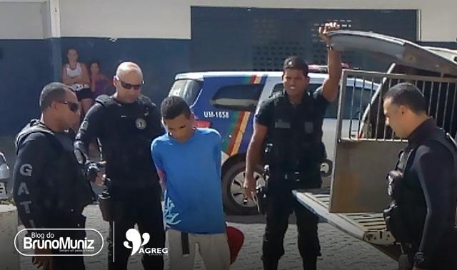 Jovem é preso traficando entorpecentes em Santa Cruz do Capibaribe