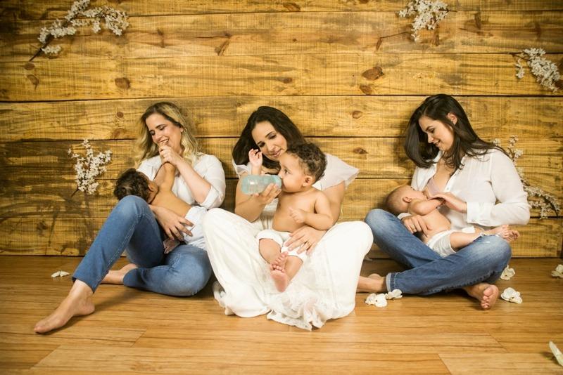 Shopping Difusora promove exposição e roda de conversa sobre Aleitamento Materno