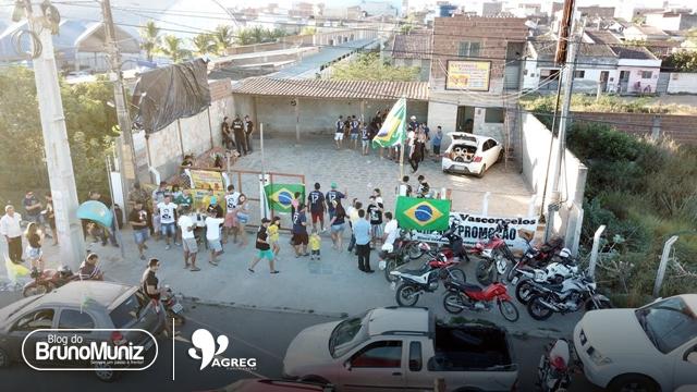 Apoiadores da candidatura de Jair Bolsonaro realizam novo ato em Santa Cruz do Capibaribe