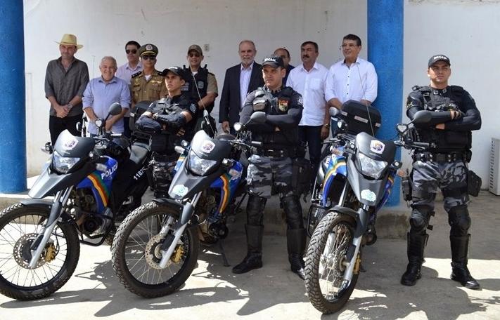 Distrito de São Domingos recebe mais um trio ROCAM