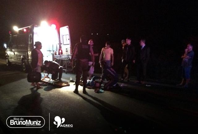 Grave acidente em Vertentes deixa feridos