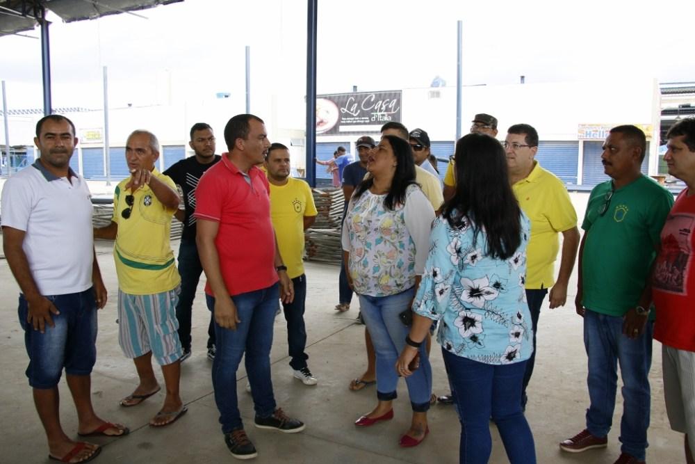 Comissão de Acompanhamento do Calçadão Miguel Arraes realiza visita no local