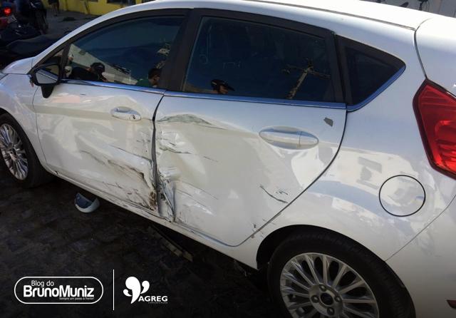 Indivíduo promove acidente generalizado e deixa feridos em Santa Cruz do Capibaribe