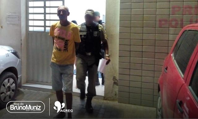 Homem é detido por ameaçar vítimas de morte pela segunda vez em Santa Cruz do Capibaribe