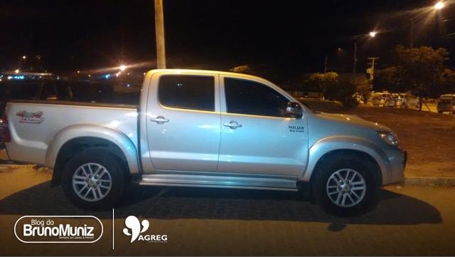 Veículo roubado é recuperado no Agreste Pernambucano