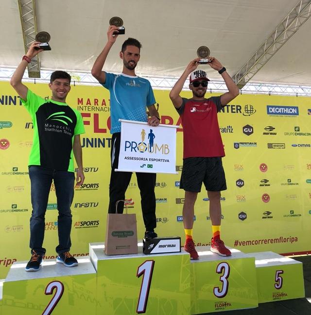 Santa-cruzense fica em 3° lugar, na faixa etária, em Maratona Internacional de Florianópolis