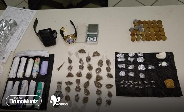 Cinco pessoas são detidas por tráfico de drogas no Agreste Pernambucano