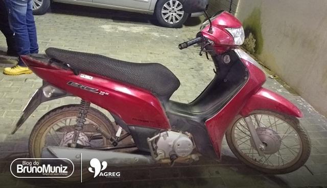 Adolescente é apreendido com motocicleta roubada em Santa Cruz do Capibaribe