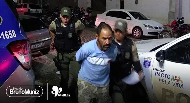 Após esfaquear um indivíduo, homem é detido em Santa Cruz do Capibaribe