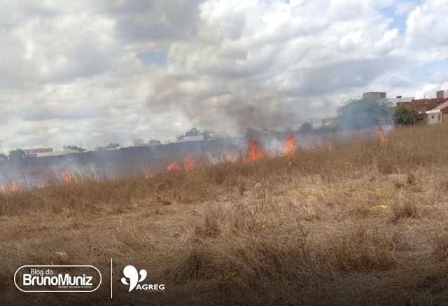 Mais um incêndio é registrado em Santa Cruz do Capibaribe, Agreste Pernambucano