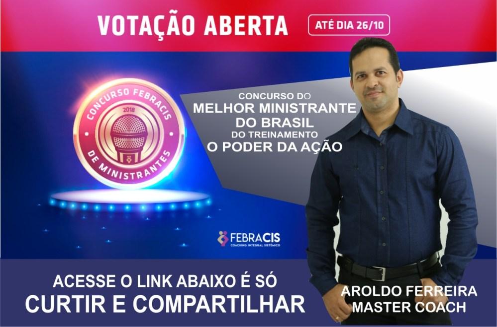 Palestrante de Santa Cruz do Capibaribe concorre à importante prêmio em concurso nacional