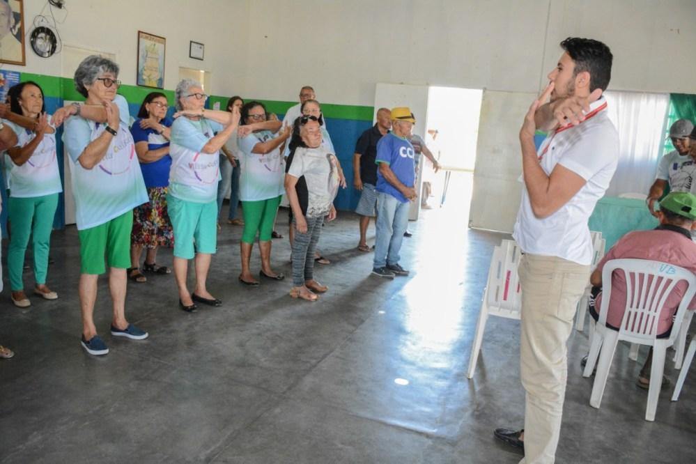 1ª Feira de Cidadania e Saúde da Pessoa Idosa recebe dezenas de pessoas em Santa Cruz do Capibaribe