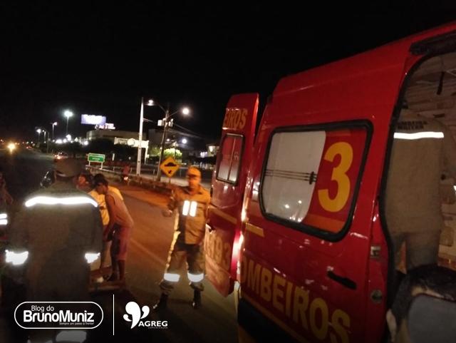 Motocicleta colide em carroça de tração animal e deixa feridos em Toritama, Agreste de Pernambuco