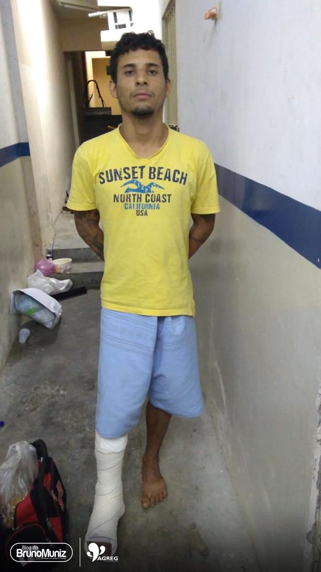 Exclusivo — Indivíduo homicida de grande periculosidade é preso no Agreste de Pernambuco