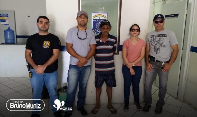 Indivíduo é preso com 2 mandados de prisão na cidade de Santa Cruz do Capibaribe