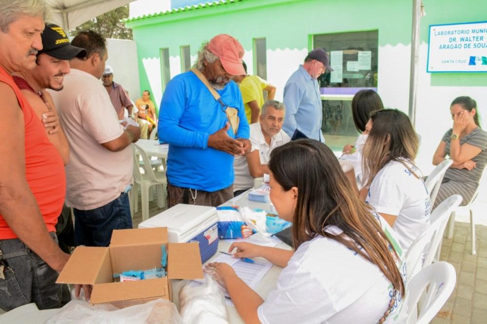 Secretaria de Saúde realiza ações do Novembro Azul em Santa Cruz do Capibaribe