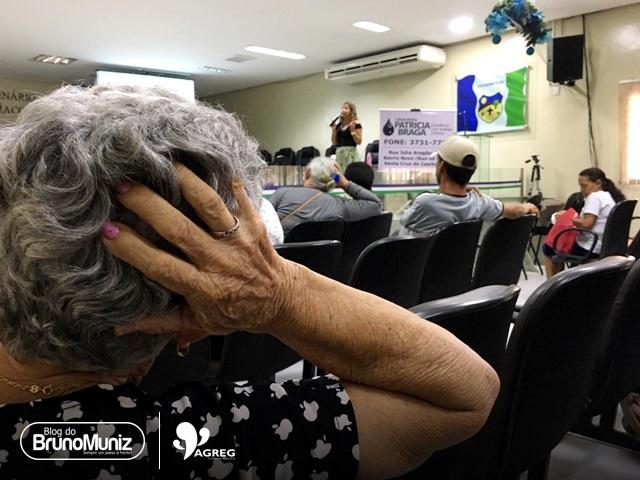 Palestras e ações ao combate ao diabetes acontece na Câmara de Vereadores em Santa Cruz do Capibaribe
