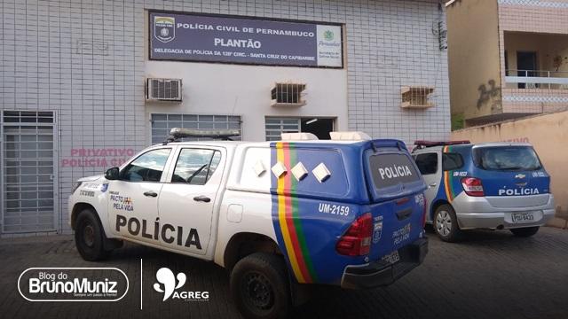Mulher é presa tentando entrar com droga no presídio de Santa Cruz do Capibaribe