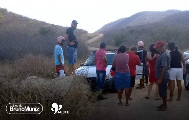 Acidente deixa duas pessoas feridas na zona rural de Brejo da Madre de Deus
