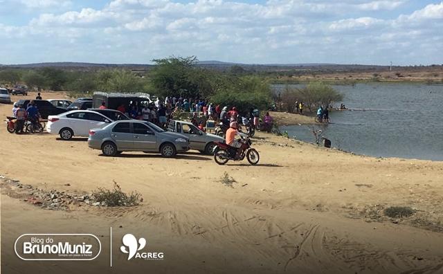 Corpo de homem segue desaparecido dentro de açude em Santa Cruz do Capibaribe