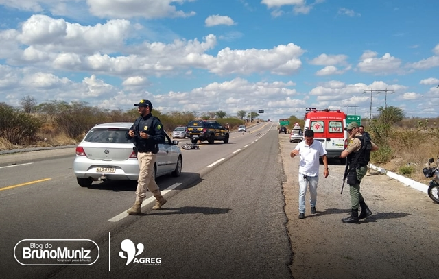 Acidente nas proximidades de Taquaritinga do Norte deixa um morto