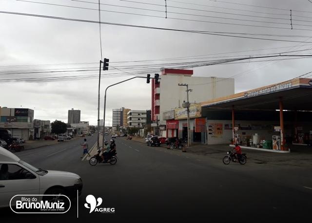Semáforos danificados seguem causando transtornos em Santa Cruz do Capibaribe