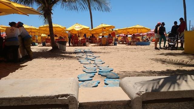 Fique atento! – Procon fiscaliza barracas na Praia de Boa Viagem