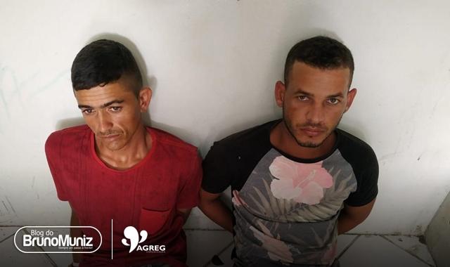 Polícia Militar apreende arma de fogo e dois suspeitos em São Domingos, distrito de Brejo da Madre de Deus