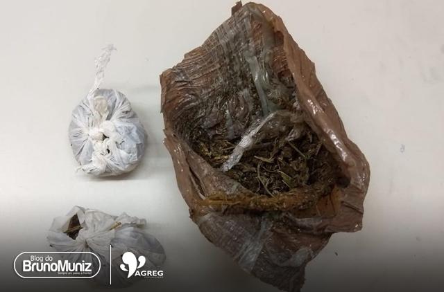 Menor é detido por suspeita de tráfico de drogas em Santa Cruz do Capibaribe