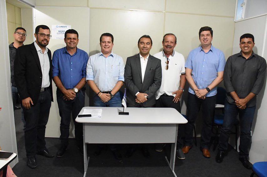 Edson Vieira é reeleito presidente do Coniape e Edilson Tavares assume cargo de vice-presidente