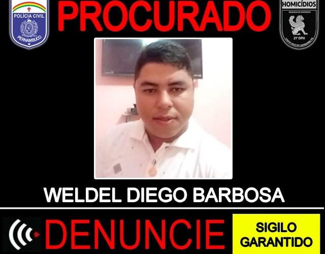 Polícia Civil divulga identidade de acusado de praticar homicídio em Santa Cruz do Capibaribe
