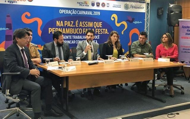 Secretaria de Defesa Social divulga esquema de segurança para Carnaval 2019