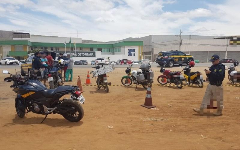 PRF realiza operação em Toritama e apreende 13 veículos