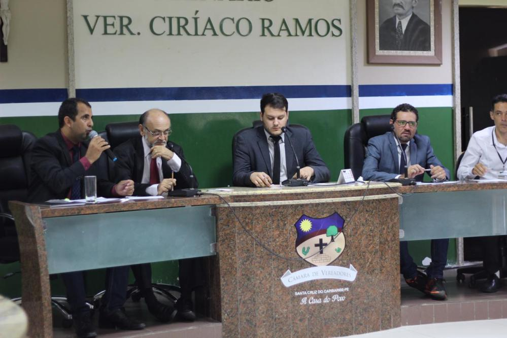 Seis projetos são aprovados na Câmara de Vereadores de Santa Cruz do Capibaribe