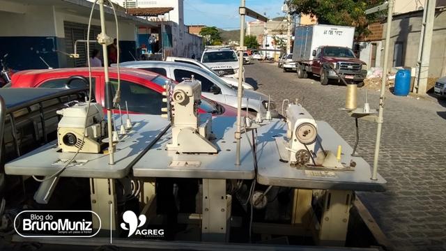 Máquinas de costura que haviam sido furtadas são recuperadas pela Polícia Militar em Santa Cruz do Capibaribe